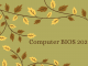 Computer BIOS 2021