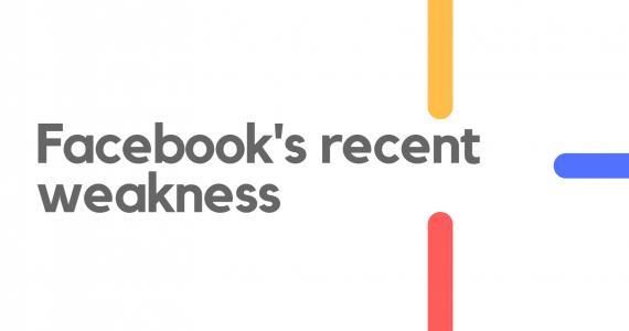 Facebook's recent weakness 2021