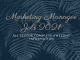 Marketing Manager Jobs 2021